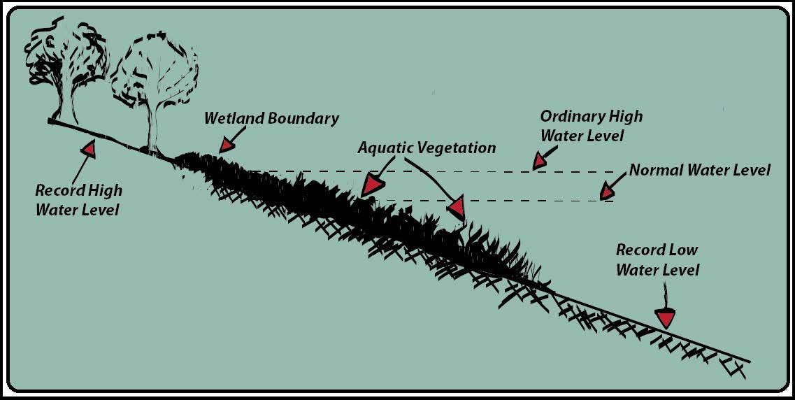 Diagram of Normal Water Level