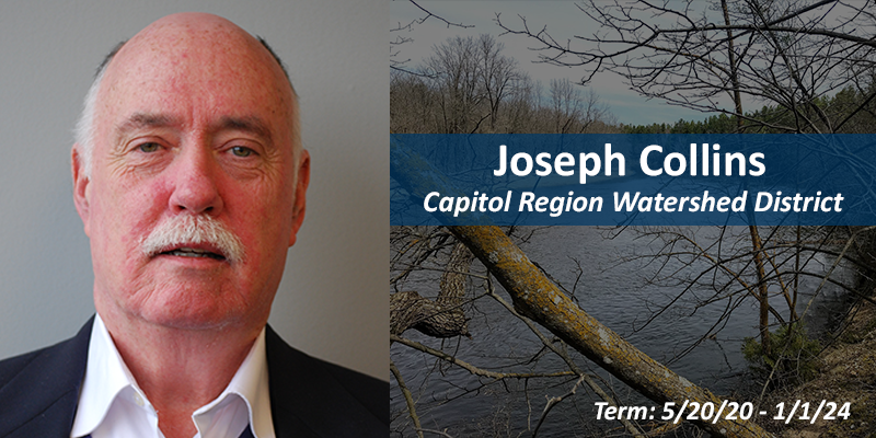 Joseph Collins, watershed district member