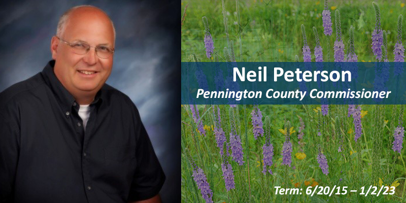 Neil Peterson, County Commissioner