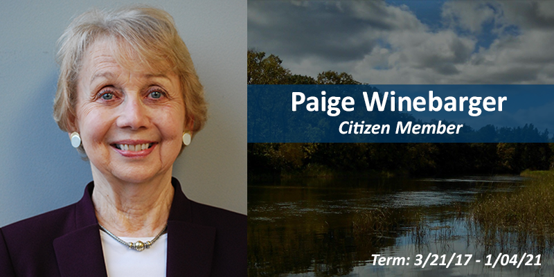 Paige Winebarger, citizen member