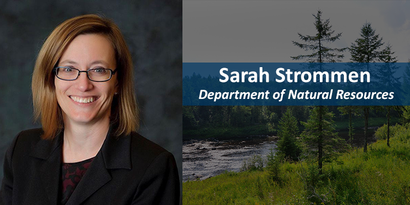 Sarah Strommen, Department of Natural Resources