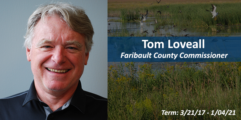 Tom Loveall, County Commissioner