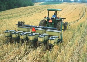 Planting into Cover Crops