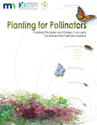 Planting for Pollinators habitat guide cover
